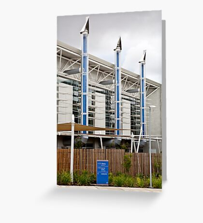 Eco building Greeting Card