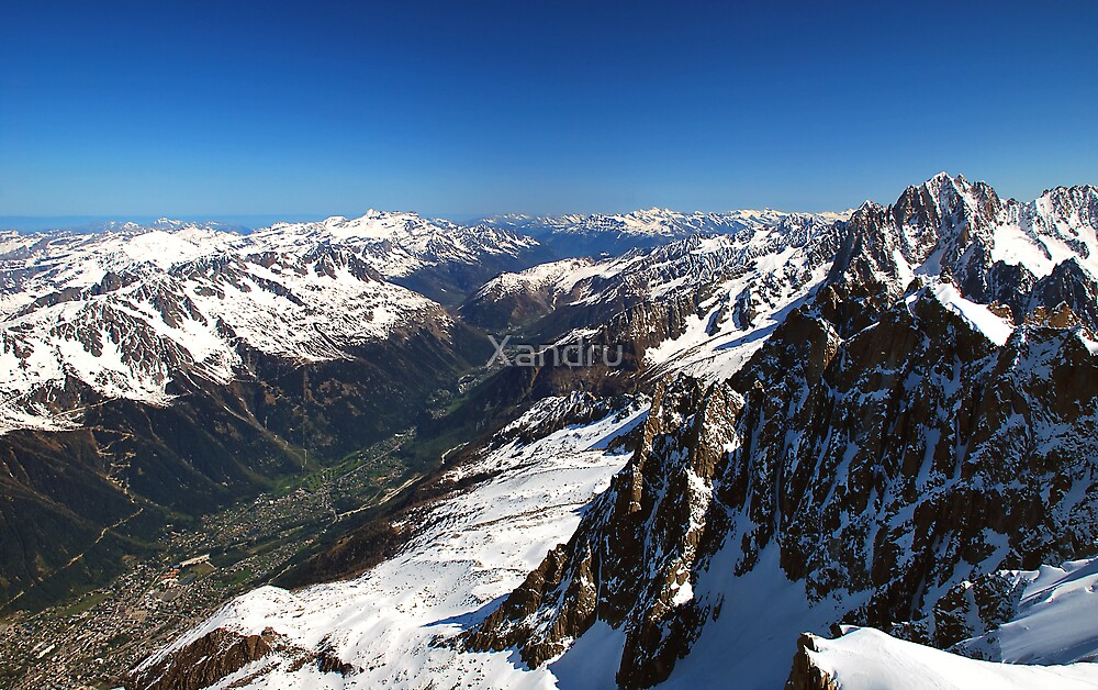 The French Alps by Xandru