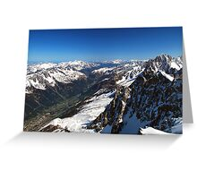 The French Alps Greeting Card