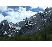 Alps in the sky Photographic Print