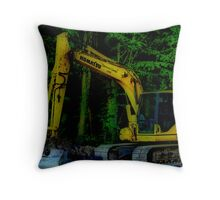 GONE TO LUNCH Throw Pillow