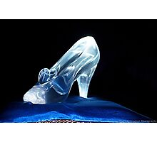 Cinderella's Glass Slipper Photographic Print
