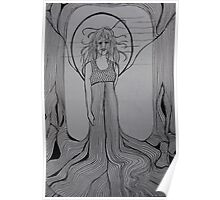 woodland goddess Poster