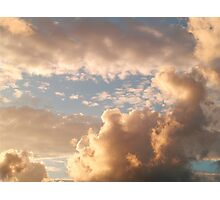 Soon for the sky Photographic Print