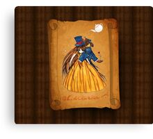 Who is the Mad Hatter ? Beauty and the Beast Canvas Print