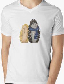 Hedgelock and Watshog Mens V-Neck T-Shirt