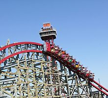Texas Giant (New), Six Flags Over Texas by coasterfan94