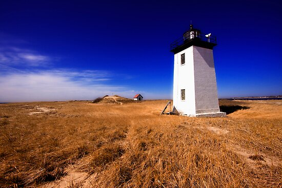 Long Point Light Cape Cod by capecodart