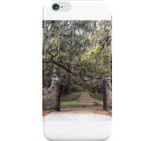 Live Oaks Gateway iPhone Case/Skin