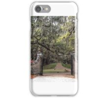 Live Oaks Gateway iPhone Case/Skin