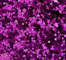 Pink Glitter Star by kaleidodesigns