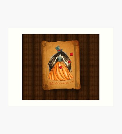 Who is the Mad Hatter ? Snow White  Art Print