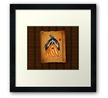 Who is the Mad Hatter ? Snow White  Framed Print