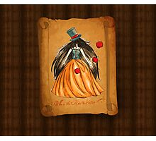 Who is the Mad Hatter ? Snow White  Photographic Print