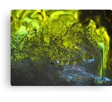 Into the green sea © Canvas Print