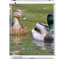 Mr and Mrs Mallard iPad Case/Skin