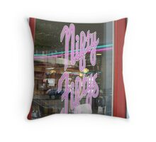 """Nifty Fiftys"" Throw Pillow"