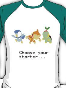 4th Gen Starters T-Shirt