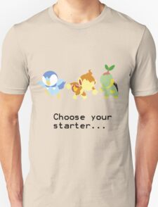 4th Gen Starters Unisex T-Shirt