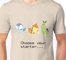4th Gen Starters Unisex T-Shirt