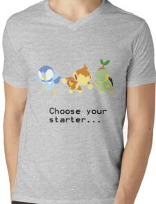 4th Gen Starters Mens V-Neck T-Shirt