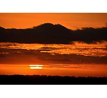 Perfect Sunset Photographic Print