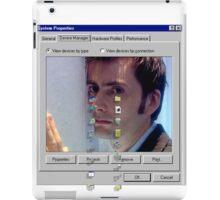 David crying iPad Case/Skin