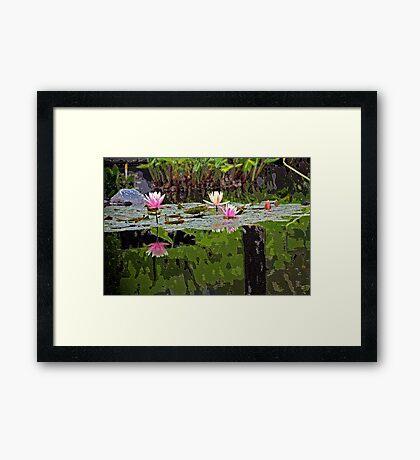 ~tranquil~ Framed Print