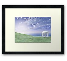 A Glimpse of Heaven Framed Print
