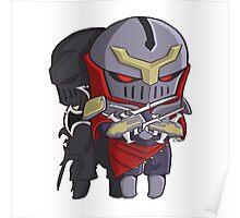 Chibi Zed League of Legends Shirt Poster