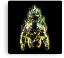150 Million Power Warrior Canvas Print
