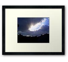 """"""" Stormy."""" Framed Print"""