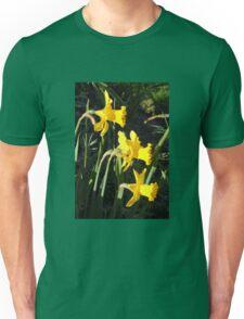 Chorus of Daffodils (Lent Lilies) Unisex T-Shirt