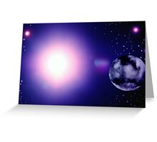 5 BILLION YEARS AD AS THE SUN DIES Greeting Card