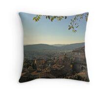 Perugia old & new. Throw Pillow