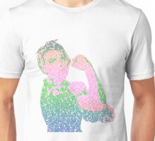 Rosie the Riveter - Stereotype gender colors Unisex T-Shirt