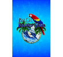 Island Time Surfing Photographic Print