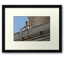 Ruler of the world... Framed Print