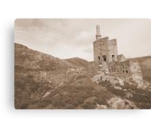 Allihies mines Canvas Print
