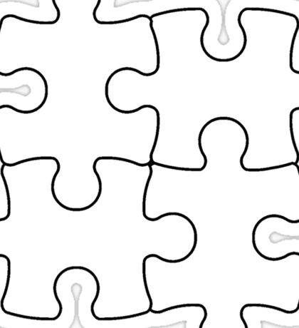Puzzle Pieces Sticker