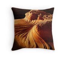The Wave of Coyote Buttes Throw Pillow