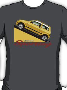 Fiat Cinquecento Sporting yellow T-Shirt