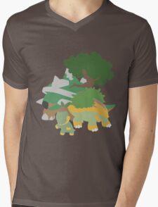 Turtwig Evolution Mens V-Neck T-Shirt