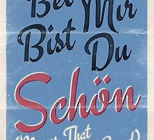 Lindy Lyrics - Bei Mir Bist Du Schon by chayground