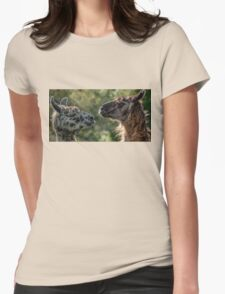 Sweet Llamas Womens Fitted T-Shirt