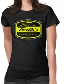 Toretto's customs Womens Fitted T-Shirt