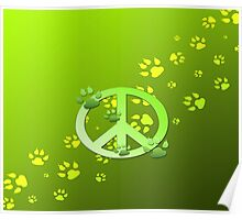 Green Peace Poster
