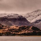 Snowy Mountains, Kintail, Scotland by OpalFire