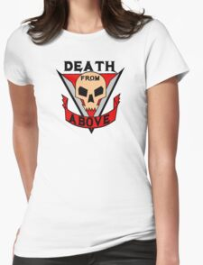 Death from above Womens Fitted T-Shirt