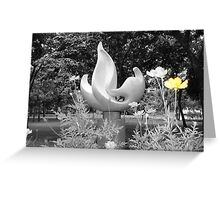 Stone Flame buttercup Greeting Card
